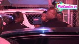 Crip Gang Member Approaches Lil Wayne After The Club And Tells Him To  Check In  While In LA!