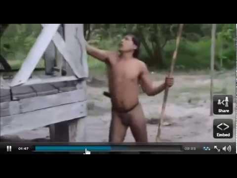 Amazon Tribe – Amazon Indian Tribe Makes contact with Brazilian Natives
