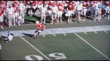 JORDAN WESTERKAMP BEHIND THE BACK CATCH VS FAU – 8/30/2014