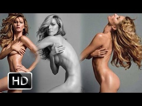 Model Gisele Bündchen Poses NAKED