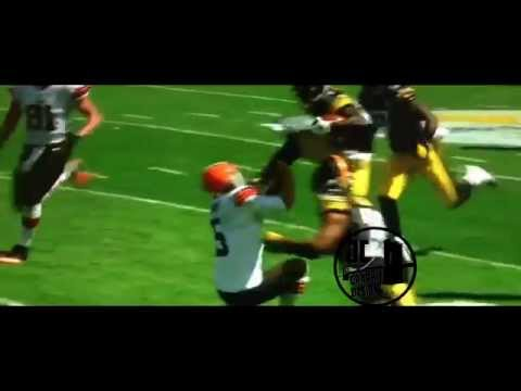 Jim Ross Calls Antonio Brown's Karate Kick (HD)