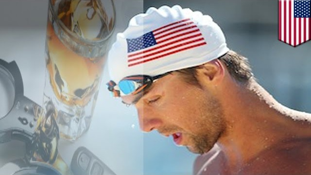 Olympic gold medal swimmer Michael Phelps arrested again for drunk driving in Baltimore, Maryland