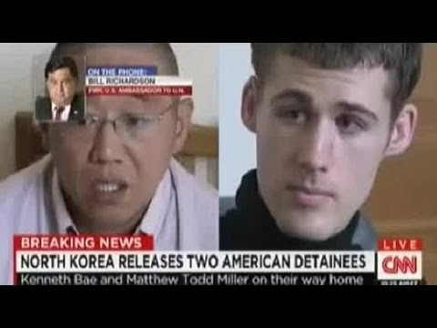 North Korea Releases Two U.S. Detainees, Kenneth Bae and Matthew Todd Miller