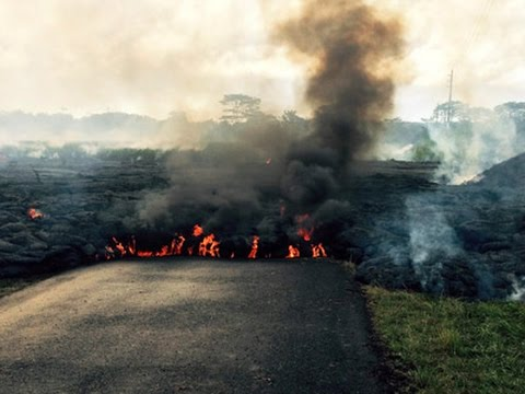 Slow-Moving Lava Creeps Closer to Hawaii Homes
