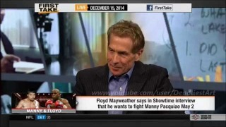 ESPN First Take | Mayweather vs Pacquiao on May 2nd; do you believe it?